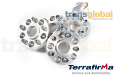 30mm Wide Alloy Wheel Spacers for Land Rover Discovery 2 TD5 V8 Terrafirma TF302