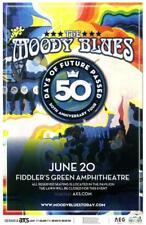 Moody Blues Denver 2017 Concert Poster Colorado