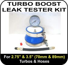 """Audi RS4 TURBO BOOST LEAK TESTER Fits 2.75"""" & 3.5"""" (70 & 89mm) Turbos Pipes Hose"""