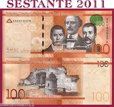 DOMINICAN REPUBLIC  100 PESOS DOMINICANOS 2014   Prefix AA - P NEW  -  FDS / UNC