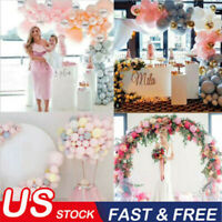 USA Balloon Arch Frame Kit Column Water Base Stand Wedding Birthday Party Decor!