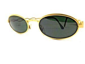 FIORUCCI Sunglasses Men Woman Vintage Sunglasses Gold Retro Made IN Italy