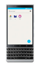 BlackBerry Key2 BBF100-2 - 64GB - Silver (Unlocked) VERIZON T MOBILE ATT CRICKET