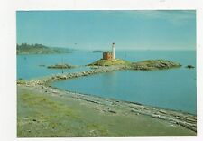 Fiscard Lighthouse Fort Rodd Jill Victoria BC Canada Postcard 350a ^