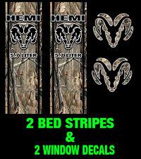 Camo Decal Ram 1500 Bed Stripe Kit Fits Dodge Ram Truck Vinyl Camo Decals