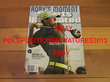 Rory McIlroy Signed Sports Illustrated Golf British Open PGA US Open