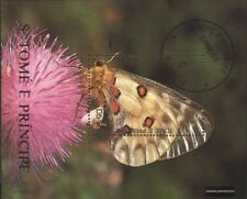 Sao Tome e Principe Block238 (kompl.Ausg.) gestempelt 1990 Schmetterlinge