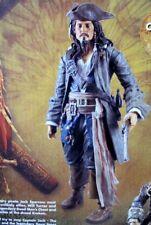 """Disney Store CAPTAIN JACK SPARROW 14"""" TALKING Figure Dead Man's Chest (2006)"""