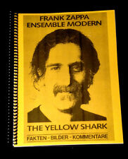 1992 FRANK ZAPPA ENSEMBLE MODERN YELLOW SHARK 200 PAGES BOOK COMPILED BY FANS
