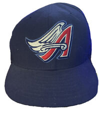 Vintage Anaheim Angels Hat by New Era Diamond Collection 90s Fitted