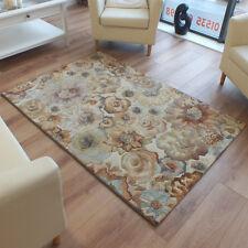 Galleria Modern Rug 79216-4848 Flower Beige,Cream,Terracotta, Multi 1.2m x 1.7m