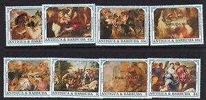 BARBUDA:1991 Rubens set overprinted BARBUDA MAIL SG1266-73 unm.mint
