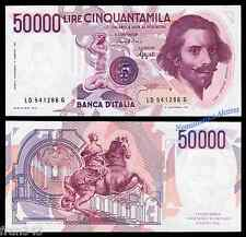 ITALIA ITALY 50000 Lire liras 1984 Pick 113b   SC /  UNC