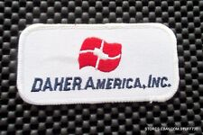 """DAHER AMERICA EMBROIDERED SEW ON PATCH SINGLE ENGINE AIRPLANE  4"""" x 2"""""""