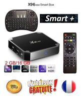 X96 mini 4K récepteur décodeur satellite TV Box Android 7.1.2 WiFi (New 2020)