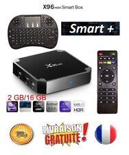 X96 mini 4K récepteur décodeur satellite TV Box Android Smart WiFi (New 2020)