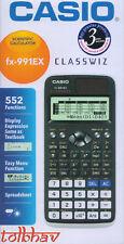 Casio FX-991EX Scientific Calculator 552 Funktion - Classwiz, FX 991 EX, neu