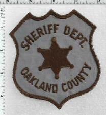 Oakland County Sheriff (Michigan) 1st Issue Shoulder Patch