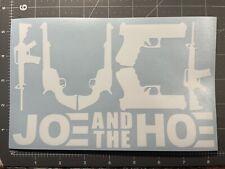 Joe Biden Kamala Harris Decal 5�X8� White Sticker Free Shipping