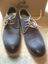 Johnston & Murphy Grey Suede Shoes Size 10 NEW