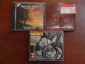 Wagner lot de CD de musique classique très bon état