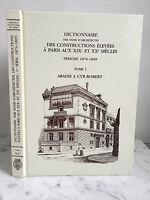 Diccionario Las Construcciones Alto De París a Las Siglo XIX Y Xx Abadie 1990