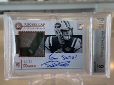 2018 Panini Encased Sam Darnold Rookie Patch Auto 10/25 Mint 9