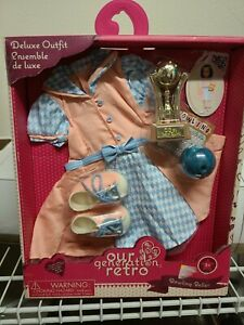 New Our Generation Retro Bowling Belle for 18 Inch Dolls Free Ship