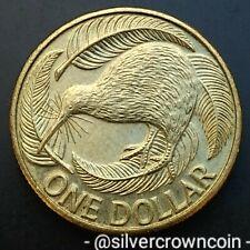 New Zealand 1 Dollar 2000(o). KM#120. One Pound coin. Kiwi Bird. Canada mint.