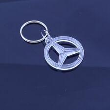 Mercedes Benz Car Badge Keyring - Handmade Laser Cut Gift