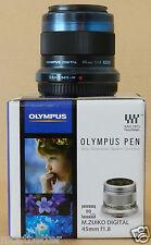 OLYMPUS M.ZUIKO DIGITAL 45mm F1.8 Black from Japan