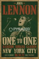 Poster Import John Lennon Concerto One To One Madison Square Garden New York