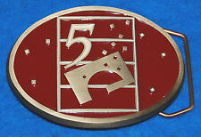 The Center At 5 Belt Buckle, Complete & Functional