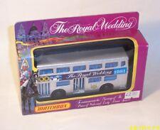 MATCHBOX Lesney Vintage Superkings K-15 THE LONDONER BUS Royal Wedding - MIB