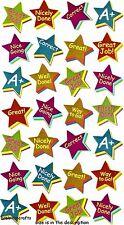 EK SUCCESS STICKO METALLIC STICKERS - COLLEGE SCHOOL - STAR REWARDS