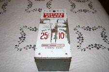 Vintage U.S. Postage Stamp Vending Machine 10 & 25 Cent Slots Machine  #1