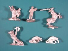 RAL PARTHA : 6 figurines (Personalities & things + Dragon Lords)
