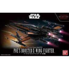 Star Wars Model Kit 1/72 POE'S BOOSTED X-WING FIGHTER Bandai Japan NEW **