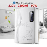 220V 2200ml Portable Home Dehumidifier Office Air Dryer Electric Mini