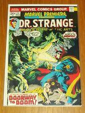 MARVEL PREMIERE #12 VG+ (4.5) MARVEL COMICS DR STRANGE NOVEMBER 1973+
