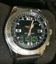 Breitling B1 Rare Black Dial, mens watch, c/w extras NO RESERVE !!