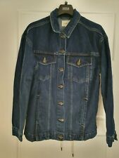 Iden Lace Back Denim Jacket, Indigo from John Lewis UK size S