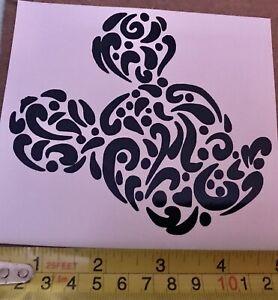 Car Window Decal - Disney Mickey Mouse Head Pattern Vinyl Sticker - Van