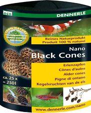 Dennerle Nano Noir les bosses de l'aune pour crevettes Tigre Cristal Cerise