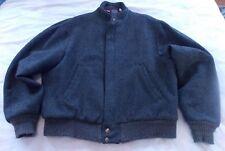Vintage Woolrich Men's Size L Wool Blend Coat Jacket Distressed USA Made