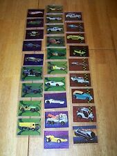 28 Hot Wheels Collector Trading Cards Comic images 1999 Foil Metal Tex Protector