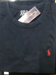 Ralph Lauren Tshirt ( Colour: Navy. Size: Medium) Brand New