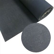 Tuff-n-Lastic Rolled Rubber Flooring Runner Mat Black, 48 x 48 x 0.12 in.