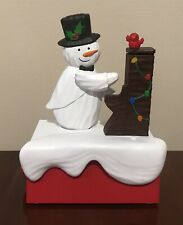 Hallmark Snow Many Memories Piano Playing Snowman Music Motion 2018 Christmas