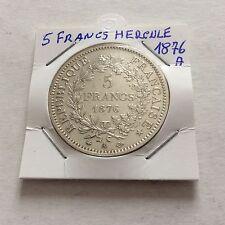 1 pièce en argent de 5 F Hercule 1876 A